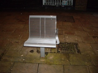 Nov 25 - Solo Chair in Wolverhampton © Antony N Britt