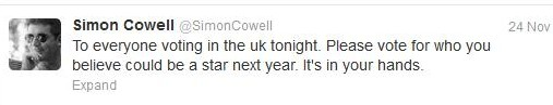 Dec 2 - Simon Cowell