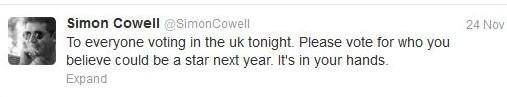 Dec 2 - Simon Cowell