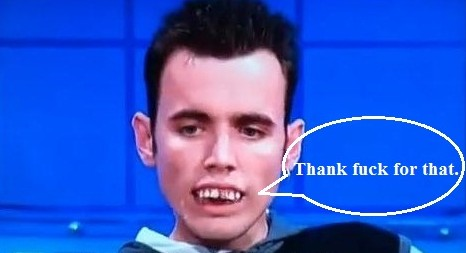 December 30 - Jeremy Kyle Teeth