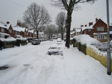Jan 27 - Snow in Walsall © Antony N Britt