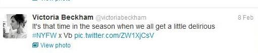 Feb 10 - Victoria Beckham