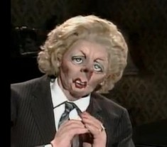 April 13 - Margaret Thatcher Spitting Image