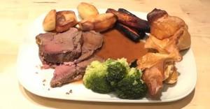 April 13 - Roast Beef Dinner