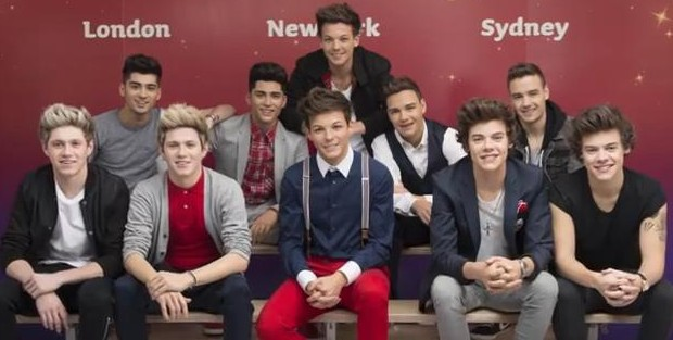 One direction antony n britt april 20 one direction wax dummies voltagebd Images