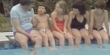 April 20 - Rolf Harris Swim Video