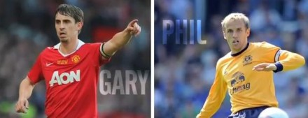 May 26 - Gary and Phil Neville