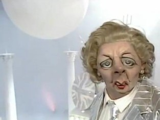 May 5 - Margaret Thatcher Spitting Image