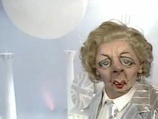 May 5 - Margaret Thatcher Spitting Image