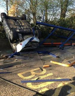 Perry Barr Fire Station Bus Crash