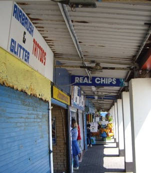 Real Chips at Porthcawl © Antony N Britt