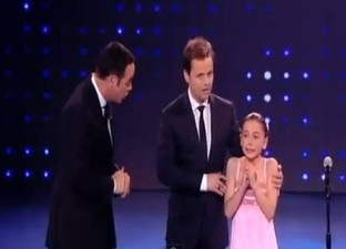 June 9 Girl cries on Britain's got Talent