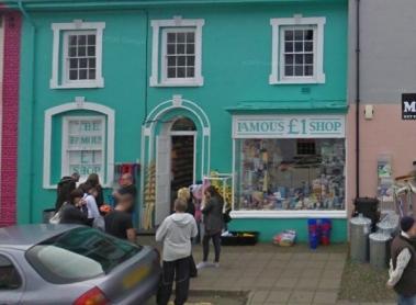 July 28 - Famous £1 Shop Aberaeron