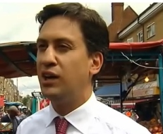 Aug 18 - Ed Milliband pelted with eggs