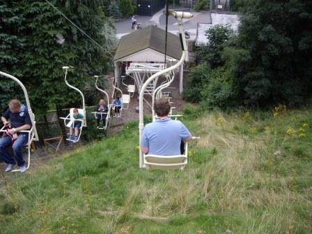 Sept 1 - Chairlift Dudley Zoo © Antony N Britt