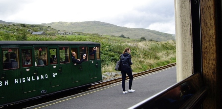 Sept 22 - Rhyd Ddu Station Welsh Highland Railway