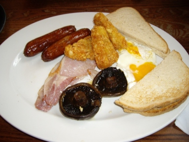 Nov 3 - Cold Breakfast at Wetherspoons Aberystwyth © Antony N Britt (1024x768)