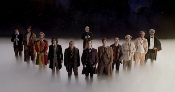 Dec 1 - Doctor Who 50th. The Day of the Doctor.