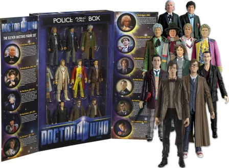 Dec 1 - Doctor Who Figures