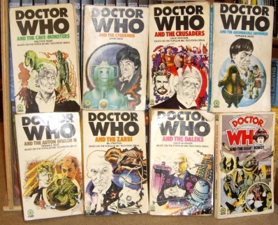 Dec 1 - Doctor Who Target Novels