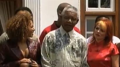 Dec 15 - Nelson Mandela meets the Spice Girls