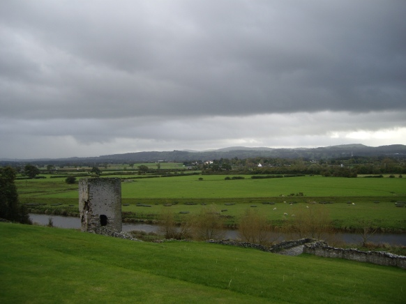 Living With David - View from Rhuddlan Castle