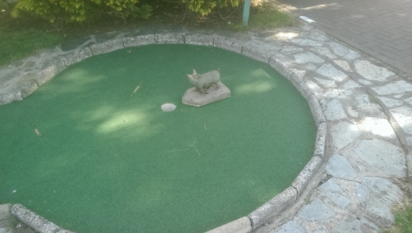 Sept 2014 - Mini Golf © Antony N Britt
