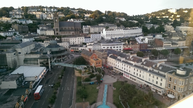 Sept 2014 - Top of Big Wheel Torquay © Antony N Britt