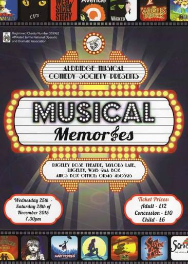 Musical Memories - Aldridge Musical Comedy Society