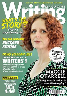 Front Cover - Writing Magazine July 2016