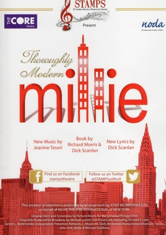 Thoroughly Modern Millie – The Core Theatre, Solihull – 5 November 2016