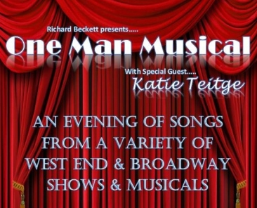 One Man Musical – Pelsall Community Centre – 10 March 2017