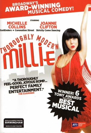 Thoroughly Modern Millie – New Alexander Theatre – 13 February 2017