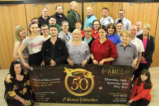 Aldridge Musical Comedy Society (AMCS) Fabulous at 50 – Prince of Wales Theatre, Cannock – 18 to 20 May 2017