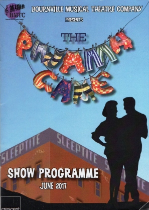 The Pajama Game – The Crescent Theatre, Birmingham – 6 June 2017