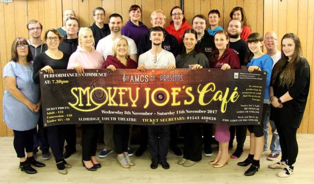 Smokey Joe's Café – Aldridge Youth Theatre – 8 to 11 November 2017