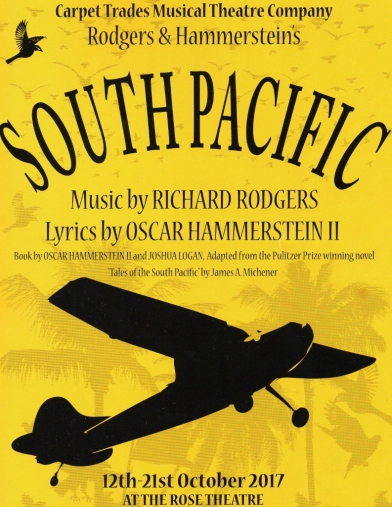 South Pacific – The Rose Theatre, Kidderminster – 21 October 2017