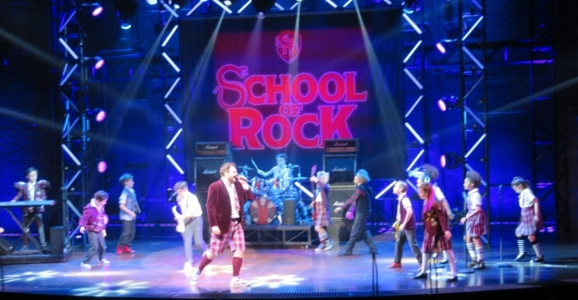 School of Rock the Musical – New London Theatre – Saturday 7 October 2017