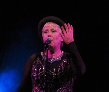 Hazel O'Connor – Birmingham Town Hall – 2 December 2017 – © Antony N Britt