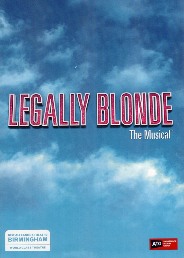 Legally Blonde – The New Alexander Theatre, Birmingham – 23 May 2018