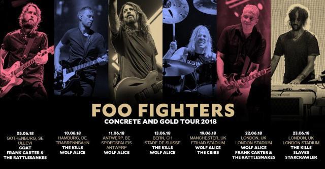 Foo Fighters – London Stadium – June 22 2018