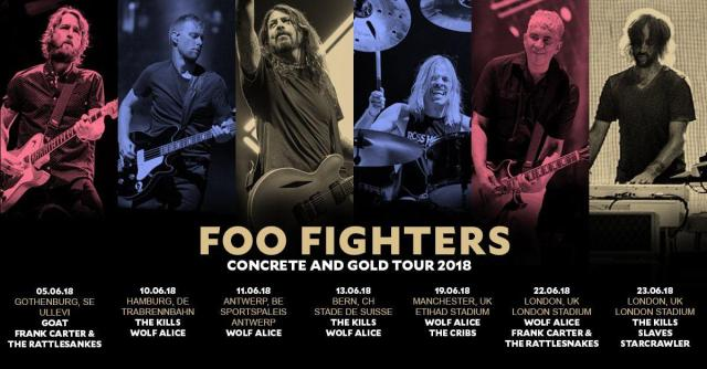 Foo Fighters – London Stadium – June 22 2018
