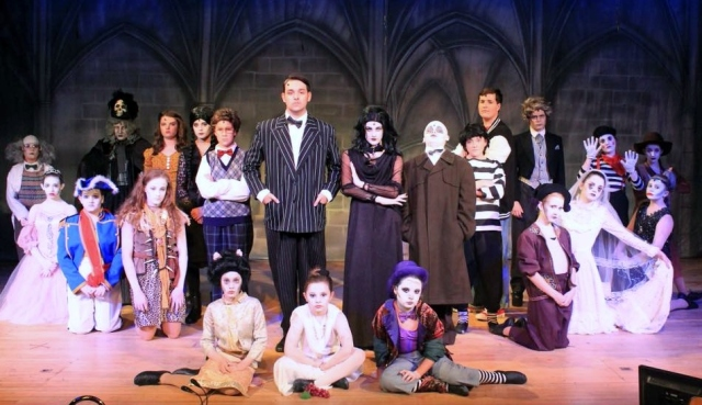 The Addams Family - Great Wyrley High School Theatre - August 17 2018. (Photo used with kind permission from Lollipop Theatre Arts)