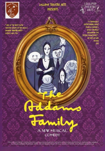 The Addams Family – Great Wyrley High School Theatre – August 17 2018