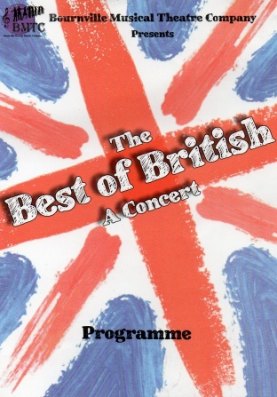 The Best of British– Dovehouse Theatre, Solihull – 27 October 2018
